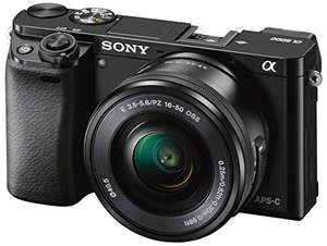 "Sony Alpha 6000 Systemkamera (24 Megapixel, 7,6 cm (3"") LCD-Display, Exmor APS-C Sensor, Full-HD, High Speed Hybrid AF) inkl. SEL-P1650 Objektiv schwarz inkl. Vsk für 483,15 € > [amazon.it]"
