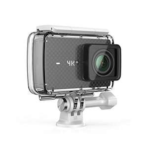 YI 4K Plus Action Kamera 4K/60fps 12MP Sensor 2.2'' Touchscreen (EU Version) + YI wasserfestem Gehäuse [YI Official Store - Amazon]