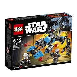 [Amazon] LEGO Star Wars - Bounty Hunter Speeder Bike Battle Pack (75167)