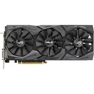 8GB Asus GeForce GTX 1080 Strix Gaming Aktiv PCIe 3.0 x16