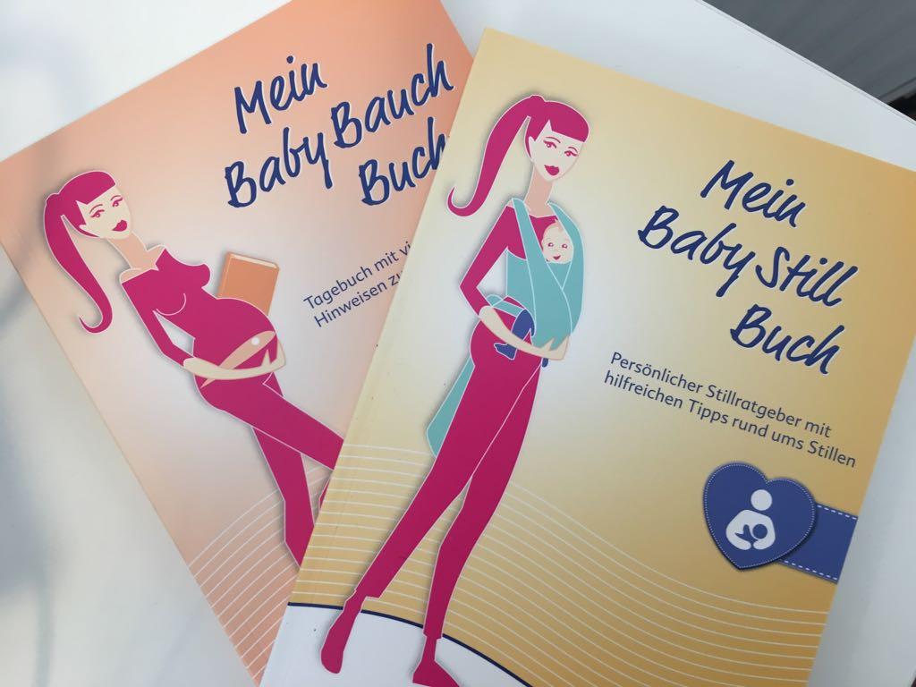 [FREE] Mein Baby-Bauch-Buch, Mein Baby-Still-Buch und weitere Inhalte für werdende Mütter inkl. kleinem Storch-Plüschtier.