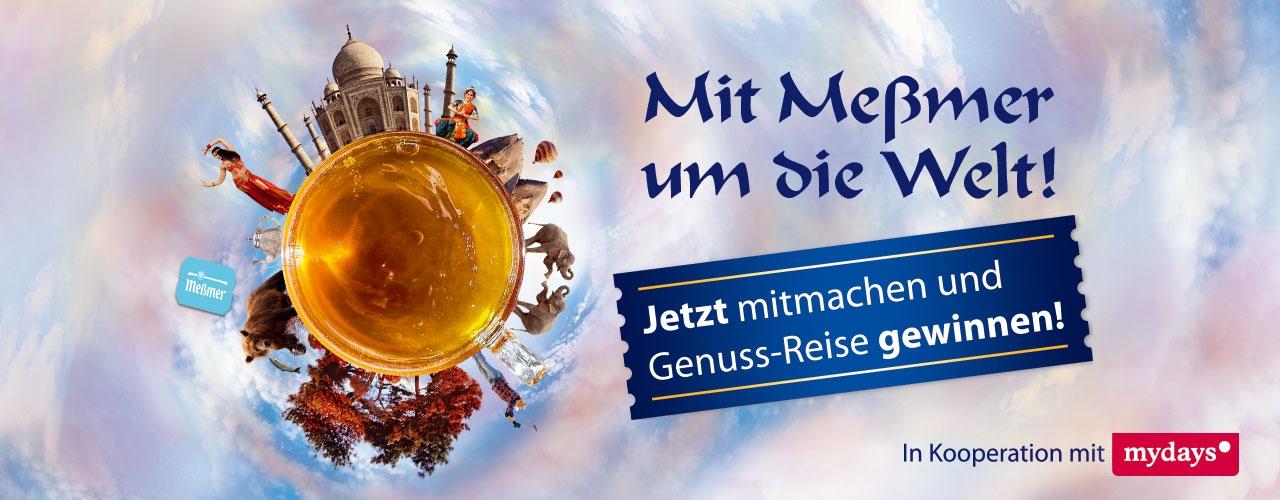 """20 € Mydays Rabatt-Gutschein (49 € MBW) bei Meßmer """"Länder""""-Tee (+Gewinnchance)"""