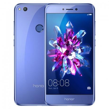 "[dg-shop@Rakuten] Honor 51091DJA ""Honor-8"" Lite Smartphone (13,2 cm (5,2 Zoll) Touchscreen, 16GB interner Speicher, Dual Sim, Android 7.0, 3GB RAM) blau"