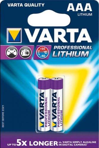 Varta Professional Lithium AAA Batterie (1,5V, 1100mAh, 10x 2-er Blister)