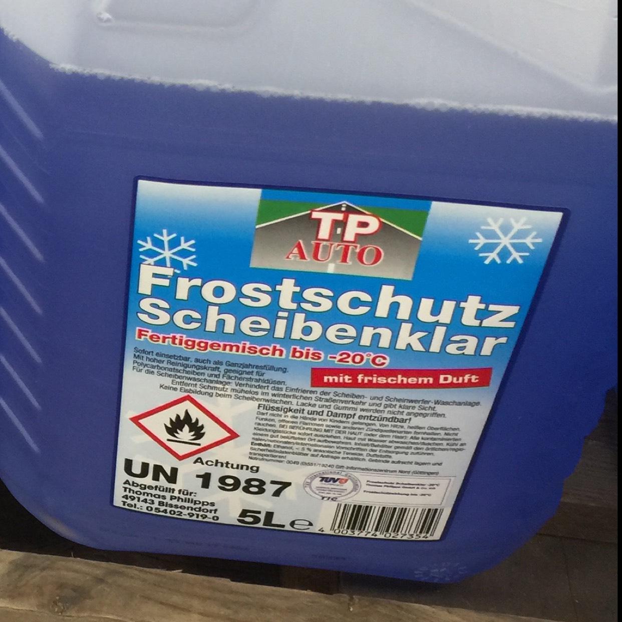 [Lokal Berlin] Frostschutz -20 Grad 5l Kanister