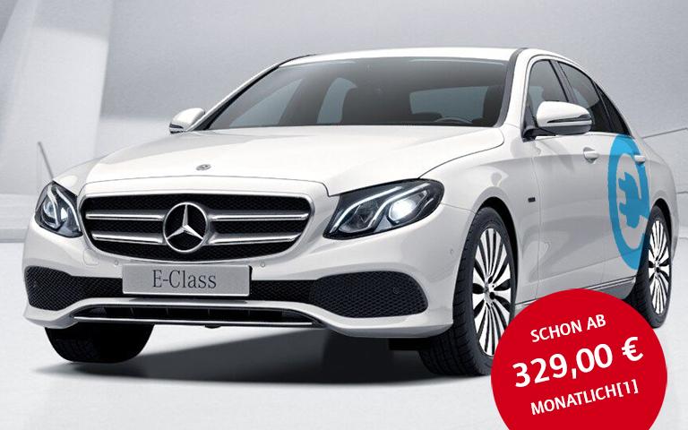 Mercedes-Benz E 350e Leasing für 329€/Monat! (Nicht) nur für AUDI/BMW-Fahrer!!