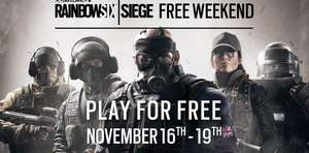 Tom Clancy's Rainbow Six: Siege (PS4 & Xbox One & PC) vom 16. bis 19.November kostenlos spielen