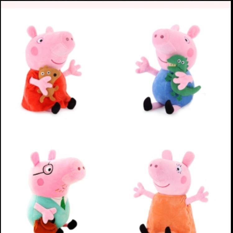 Peppa Pig Plüschspielzeuge für 2,29€ pro Stück inkl. Versand