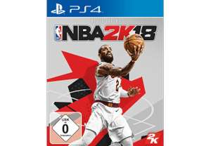 [Mediamarkt GDD] NBA 2K18 [PS4]  für 33,-€ //NBA 2K18 (Legend Edition) [PlayStation 4] für 42,-€