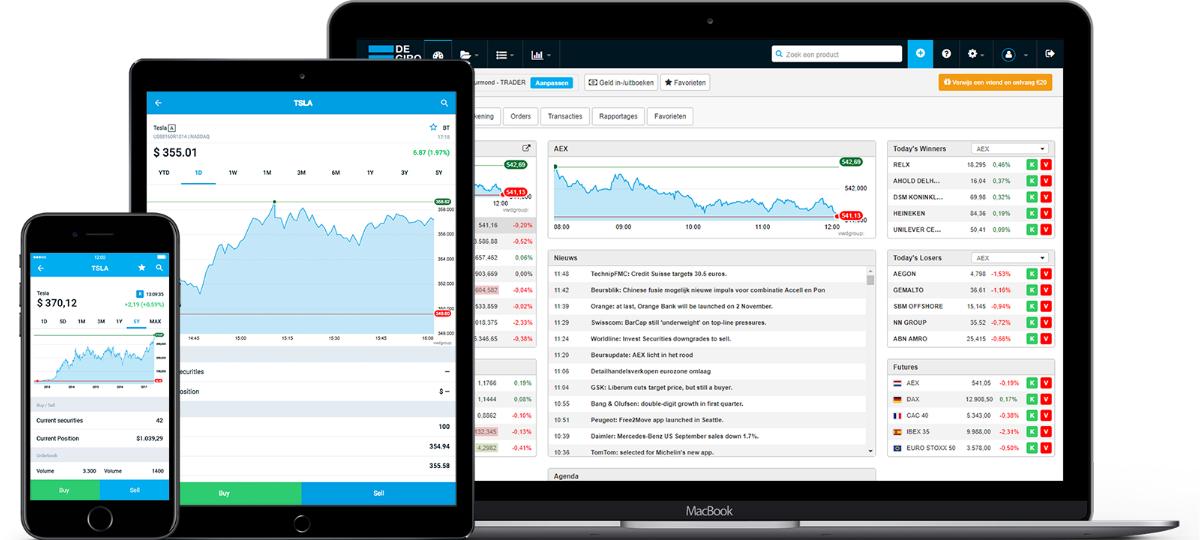 Rechnerisch 1.000€ Tradingguthaben für Degiro Neukunden