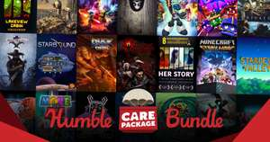 Humble Care Package Bundle (27 Spiele) für 25,74€ (Humble Bundle)