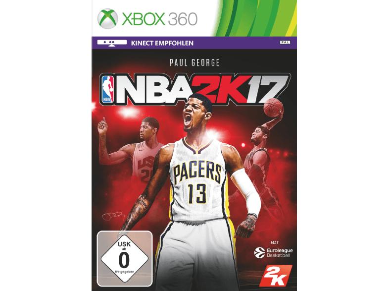 Mediamarkt Online NBA 2K17 oder WWE 2K17 für Xbox 360 je 5 Euro