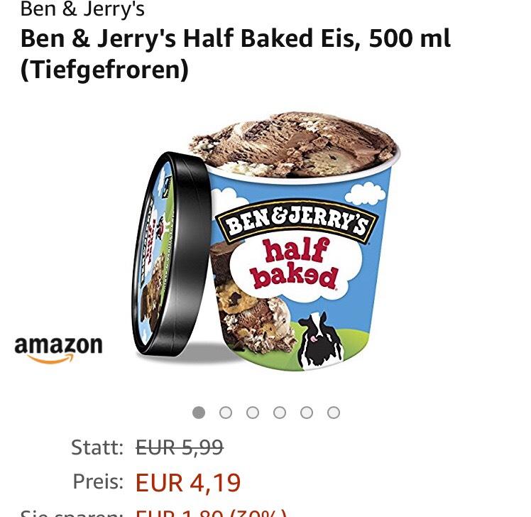 [Lokal BER/MUC Prime Now ] Ben & Jerry's/Häagen Dasz 500ml diverse Sorten