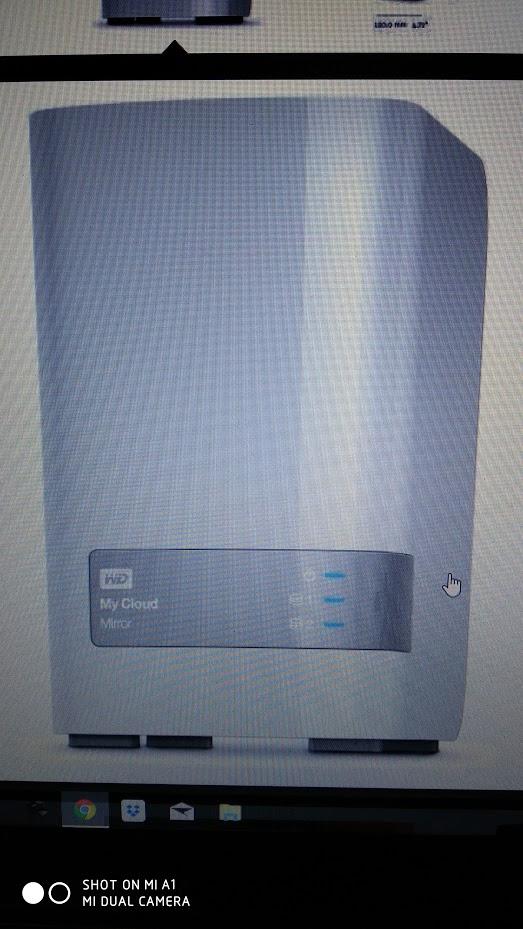 WD My Cloud Mirror (Gen. 2) 2-Bay NAS 2x 4TB (Bei 0% Finanzierung  50 Euro Rabatt )