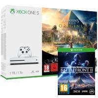 [Schweiz] Microsoft Xbox One S (1TB) + Assassins Creed Origins + SW BF2 + RBS:Siege