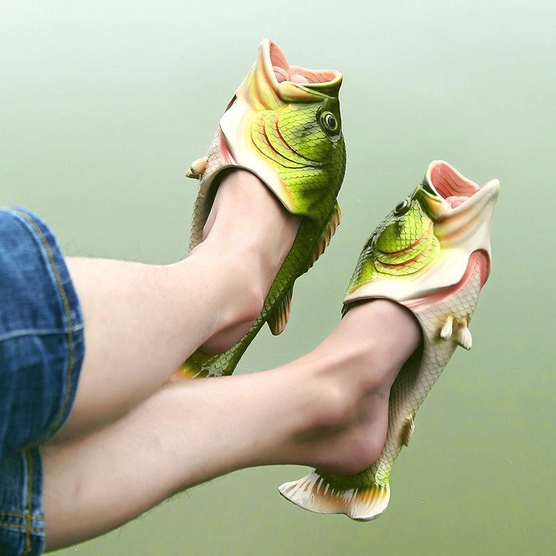 Hausschuhe für fisch-verliebte Fashionfreunde ab 7,35€ (Größe 24-44)