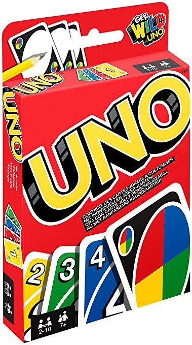 Uno Kartenspiel Mattel W2087 [Amazon.de]