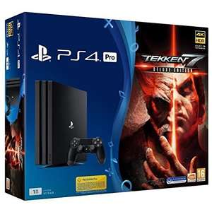 PlayStation 4 Pro + Tekken 7 Deluxe Edition für 375,48€ (Amazon.fr)