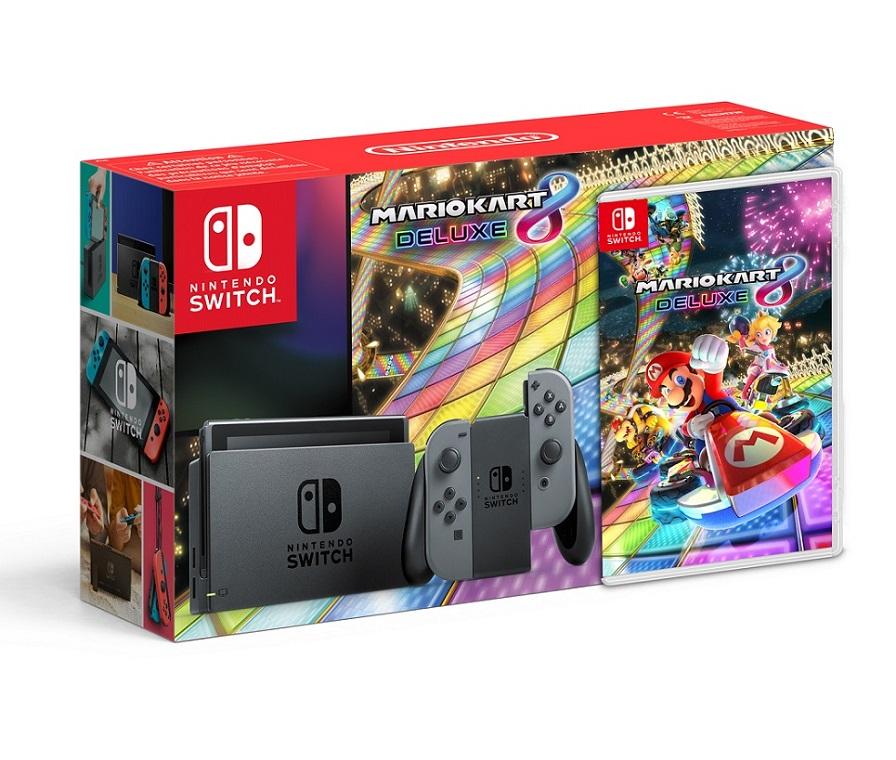 Nintendo Switch + Mario Kart 8 [Lokal Saturn Bochum vom 16.11-18.11]