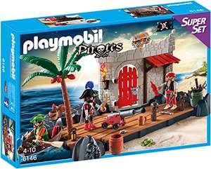 [Amazon oder ToysRus] PLAYMOBIL 6146 - Super Set Piratenfestung