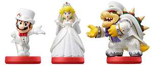 [amazon.fr] amiibo Super Mario Odyssey 3Pak (Mario, Peach & Bowser im Wedding Set)