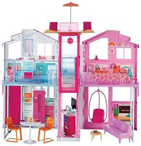 [Amazon Tagesdeal] Mattel Barbie DLY32 - Barbie 3 Etagen Stadthaus