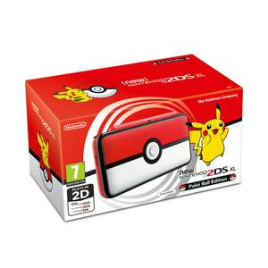 New Nintendo 2DS XL Pokeball Edition Müller Onlineshop