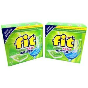 WOW FIT Grüne Kraft Classic 144 Tabs Geschirrspültabs