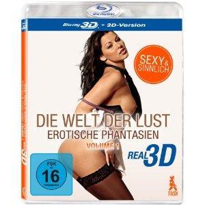 Die Welt der Lust: Erotische Phantasien Volume 1, 2, 3, 4 [2D + 3D Blu-ray] für je 10,97€ @ Amazon