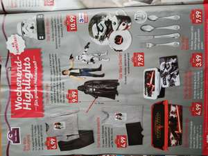 (Aldi Nord) (Disney) Star Wars Merchandise