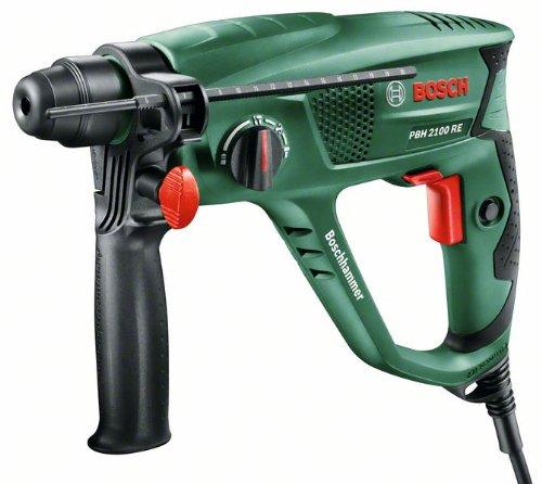 Bosch Bohrhammer PBH 2100 RE (Tiefenanschlag, Zusatzhandgriff, Koffer, 550 Watt) für 67,99€ [Amazon]