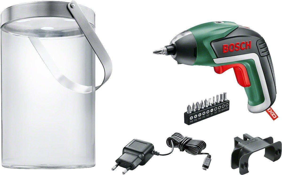 Sammeldeal 15% auf ausgewählte DIY-Produkte von Bosch (grüne Serie) - sehr viele gute Preise möglich z. B. Bosch IXO V mit Solarlampe 33,15€ [Amazon]