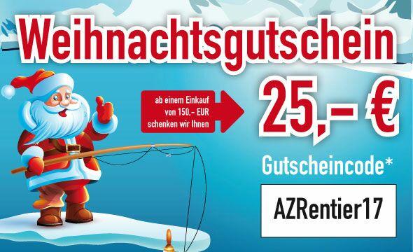 Angelzentrale-Herrieden 25€ Gutschein ab 150€ MBW