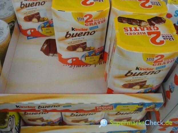 Kaufland  - kinder bueno 6+2 für 1.39€