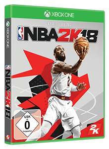 NBA 2K18 (Xbox One) für 28,97€ & (PS4) für 32,97€ + 1€ Gutschein für Amazon Video (Amazon)