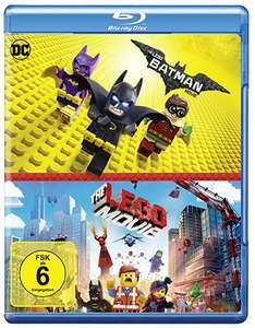 Lego Batman + The Lego Movie Blu Ray Doppelpack
