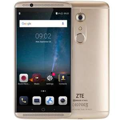 ZTE Axon 7 4/64GB (mit Band 20) GOLD/GRAU Snapdragon 820
