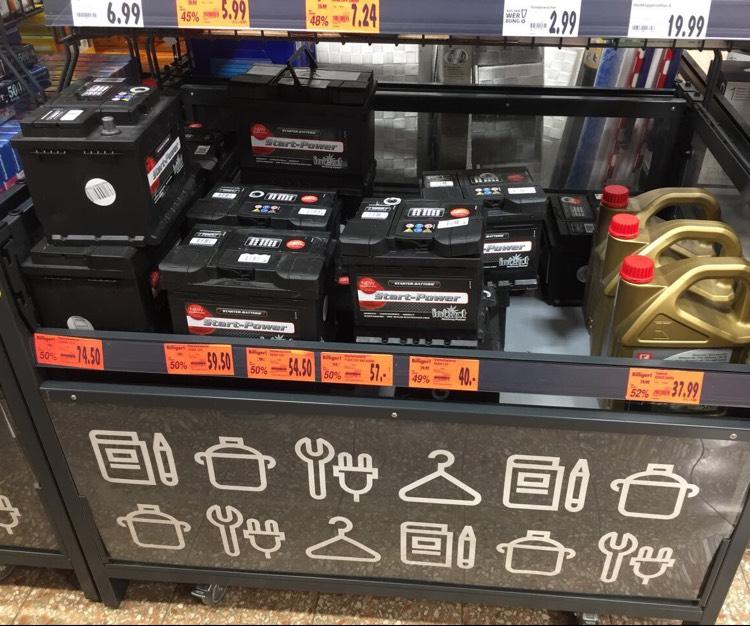 [Kaufland Lokal? Castrop] Autobatterien von intact -50% reduziert