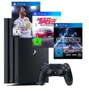 [Ebay Saturn] Playstation 4 Pro Bundle FIFA 18, NFS - Payback; Battlefront: II