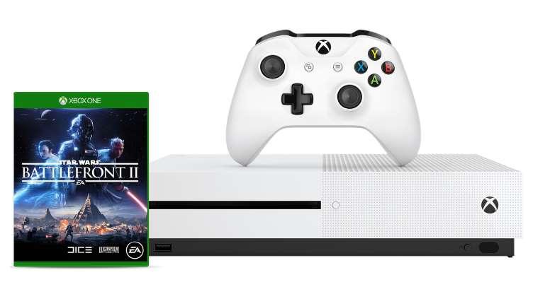 Xbox One S + Star Wars: Battlefront II + AC: Origins oder Forza Horizon 3 inkl. Hot Wheels für 229€ [Microsoft]
