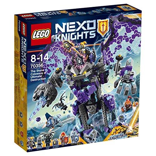 [Amazon Prime Exklusiv] Lego Nexo Knights 70356 - Der stürmische Steinkoloss für 41,99 Euro