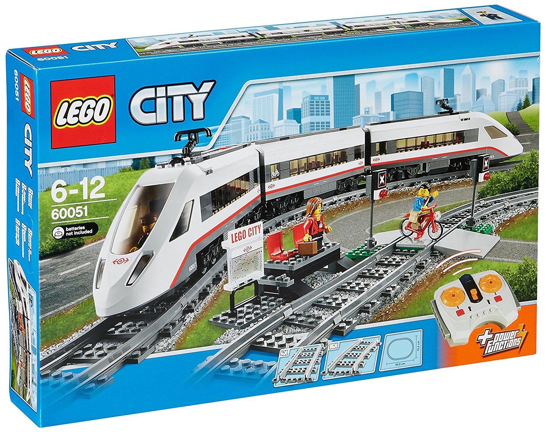 [Amazon Italien] LEGO City 60051 - Hochgeschwindigkeitszug für 83,92 Euro inkl. Versand