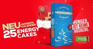 Energy Cake Adventskalender 25 x 125 g