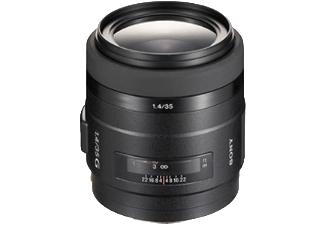 SONY SAL35F14G 35 mm-35 mm Objektiv f/1.4, System: A-Objektiv von Sony, Schwarz
