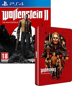 Wolfenstein II: The New Colossus + Steelbook Case (PS4 & Xbox One) für je 36,82€ (Game UK)