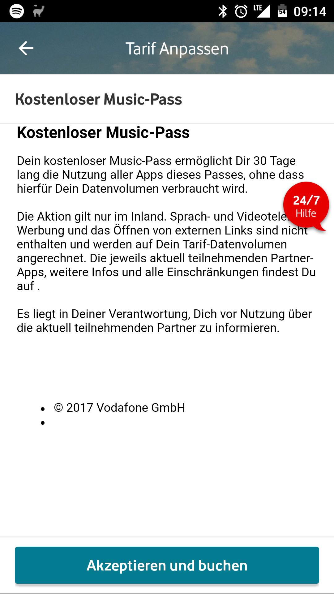 Vodafone Bestandakunden - Vodafone Pass