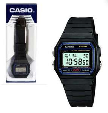 Casio Herren-Armbanduhr F-91W-1YER für 7,80€ (7dayshop)