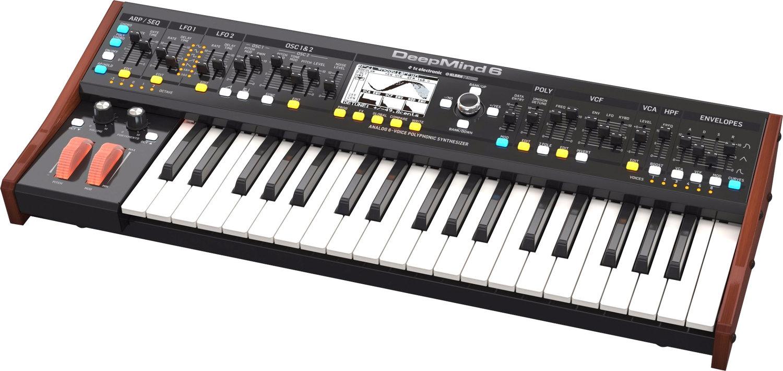 LOKAL Köln // Behringer Deepmind 6 // analoger Synthesizer