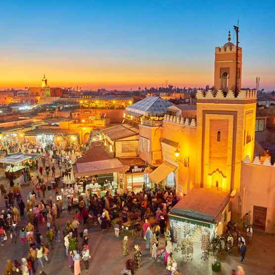 Flüge: Marokko [November - Dezember] - Hin- und Rückflug von mehreren Deutschen Airports nach Marrakech ab nur 59€ inkl. Gepäck