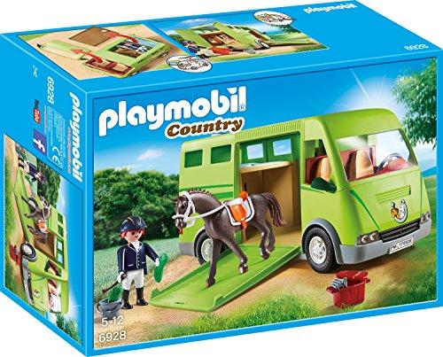 [Amazon] Playmobil Sammeldeal: 6928 - Pferdetransporter / 6929 - Pferdewaschplatz / 6930 - Reitturnier / 6931 - Pferdekoppel